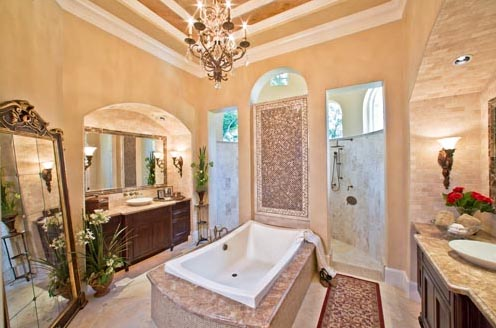 Master bathroom decorating ideas home trendy for Master bathroom decorating ideas