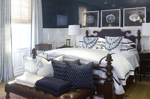 Navy Blue Bedroom Decor Home Trendy
