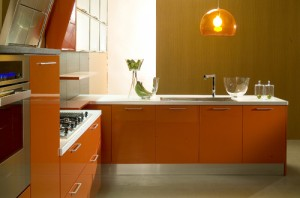 Orange Kitchen Lighting Ideas