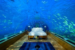 Under Water Hilton Maldives Hotel