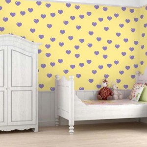 Yellow Wallpaper Ideas for Kids Room