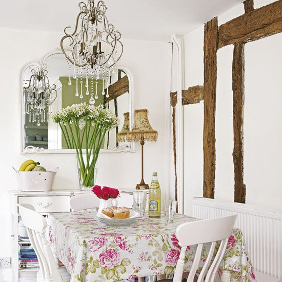 dining room classic retro floral