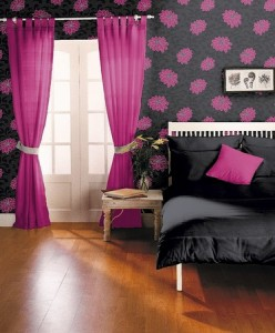 black white and pink bedroom designs ideas