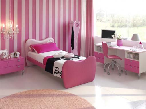 Black white and pink bedroom designs home trendy for Bedroom designs pink and black