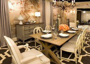 eclectic dining rooms