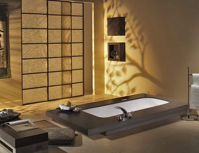 oriental bathroom decor
