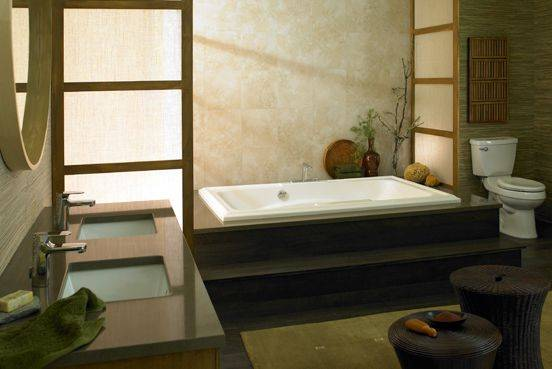 oriental bathroom design ideas
