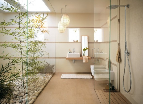 oriental bathroom design