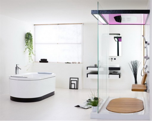 Cool Minimalist Bathroom