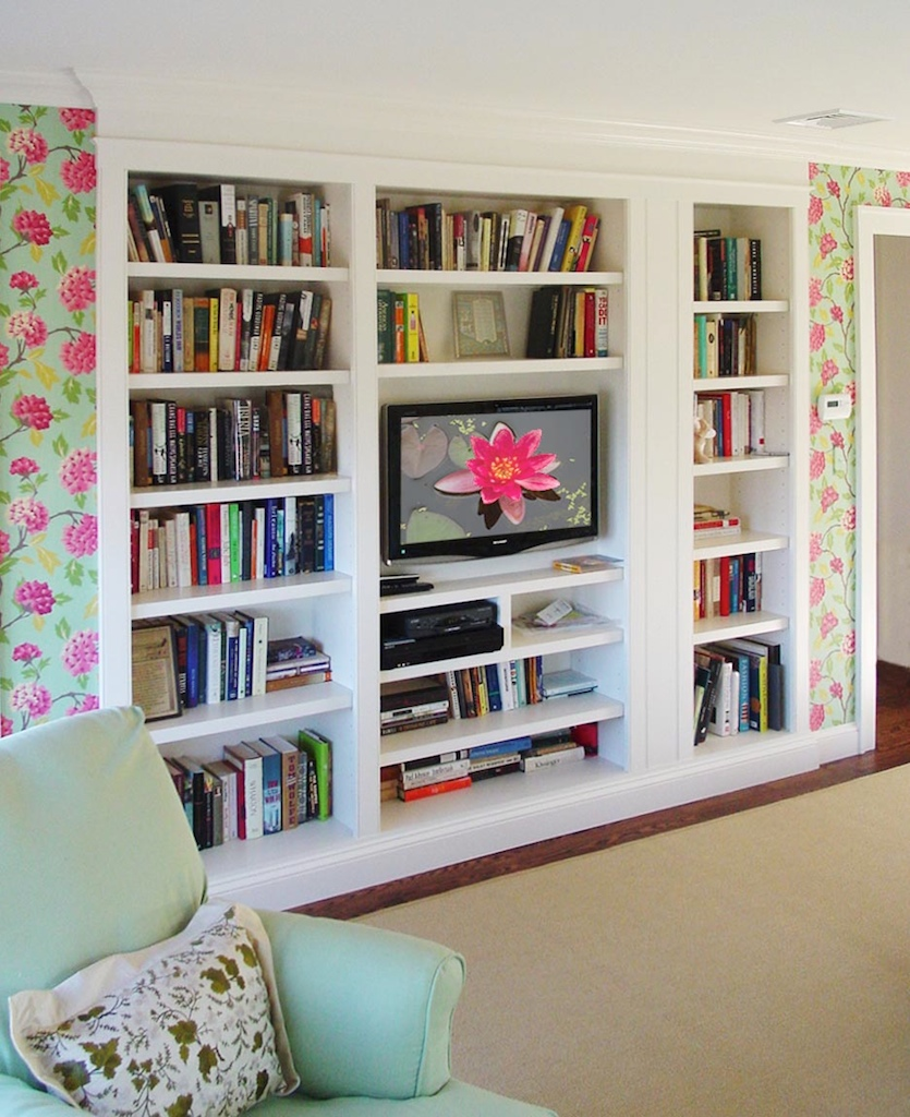 Built in bookshelves design ideas home trendy Where to put a bookcase in a room