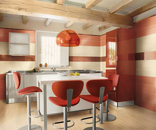 Red and white kitchen ideas | Home Trendy