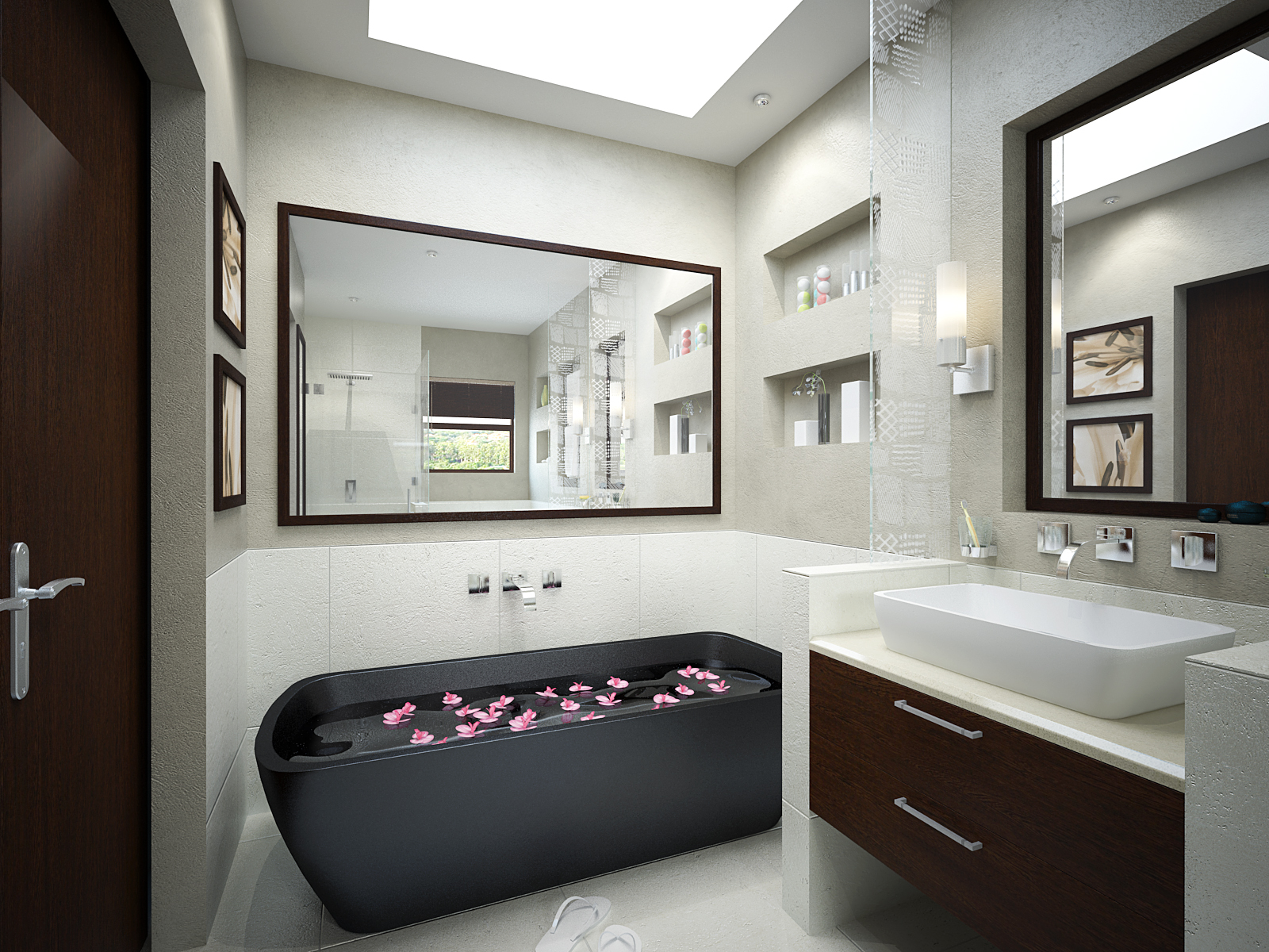 Small bathroom designs home trendy for Trendy bathrooms