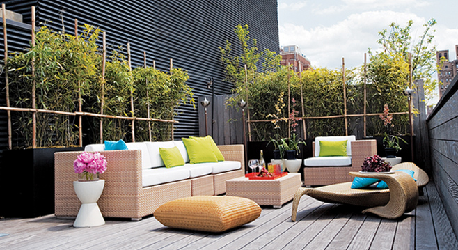 small terrace design ideas