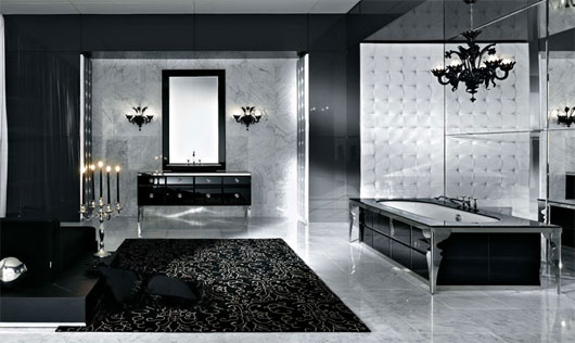 Black Bathroom Design Idea