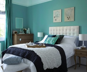 Bright Turquoise Paints