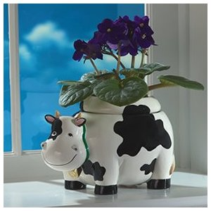 animal shaped planters