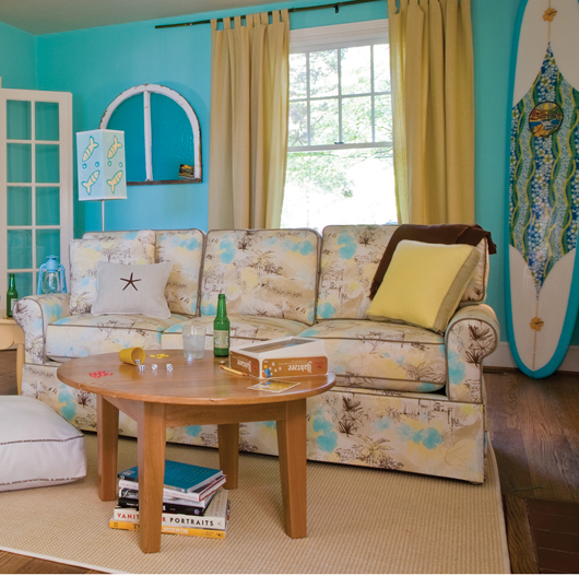 bright turquoise paint colors