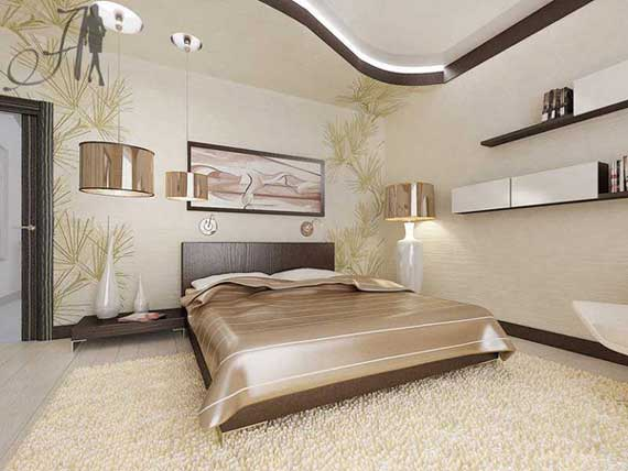 Brown and cream bedroom designs home trendy for Brown and cream bedroom ideas