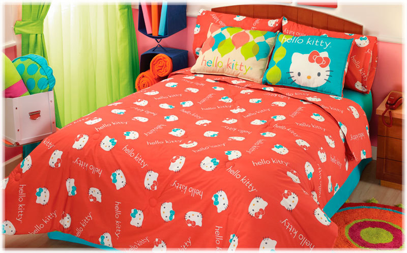 hello kitty bedding set queen size