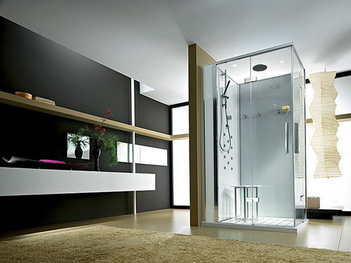 Modern bathroom interior design ideas home trendy for Trendy bathroom ideas