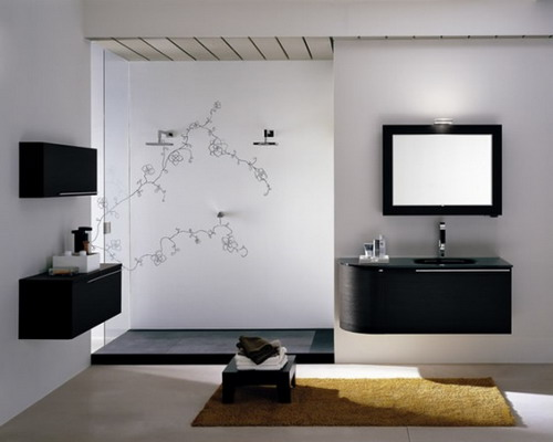 modern bathroom interiors