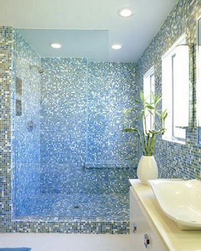 Tile bathroom ideas small bathroom home trendy for Small bathroom designs 2012