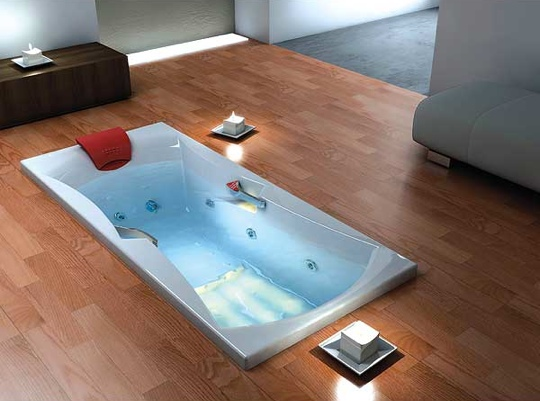 Unusual bathtubs home trendy for Quirky bathroom designs