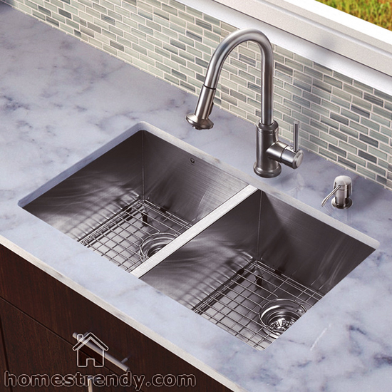 Trendy Kitchen Sinks : ... sinks are elegant in their appearance unlike the traditional sinks we