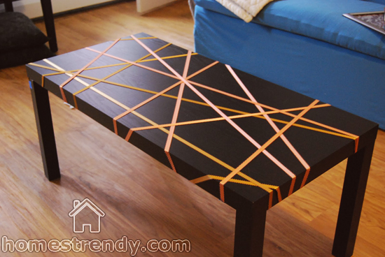 Old table design