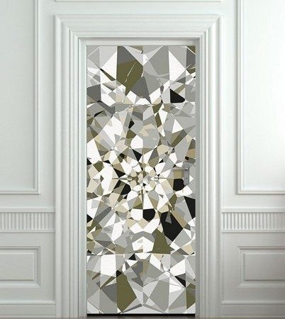 diamond door sticker