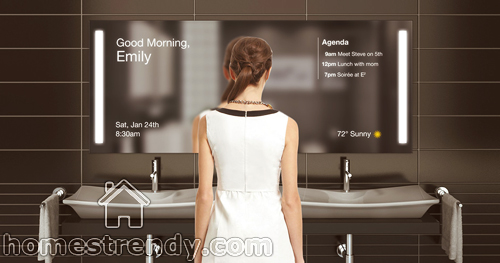 Smart Mirrors Technology Home Trendy