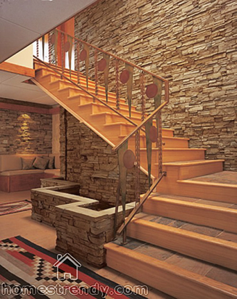 Improve your home d cor using stone veneer home trendy for Beauty stone fireplaces