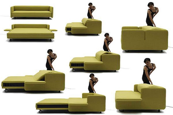 Multifunctional couches for small living rooms home trendy - Smart furniture for small spaces handy solutions ...