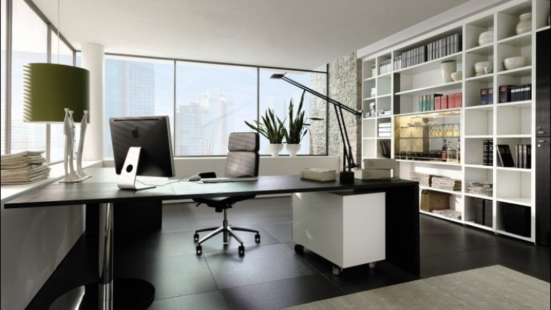 contemporary executive office