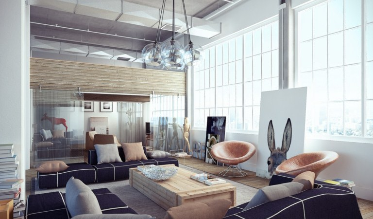 industrial loft apartment
